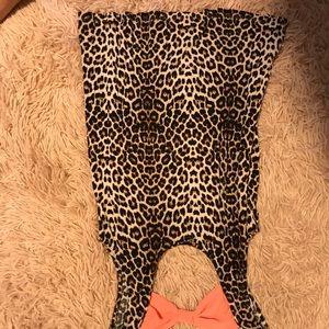 Tank top cheetah print